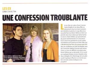 Brigitte Paquette Les Ex ©TV7joursOct2005
