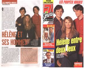Brigitte Paquette Les Poupees Russes ©7Jours