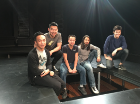 Oliver Koomsatira Banana Boys CAST - Factory Theatre