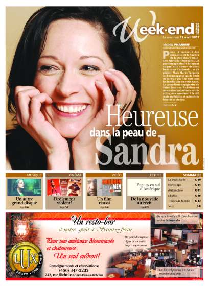 Marie Turgeon ©CanadaFrancais2007page1