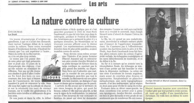 Marcel Jeannin La Raccourcie ©LeDroit