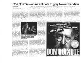 Michel Perron Don Quixote ©TheMontrealer2010